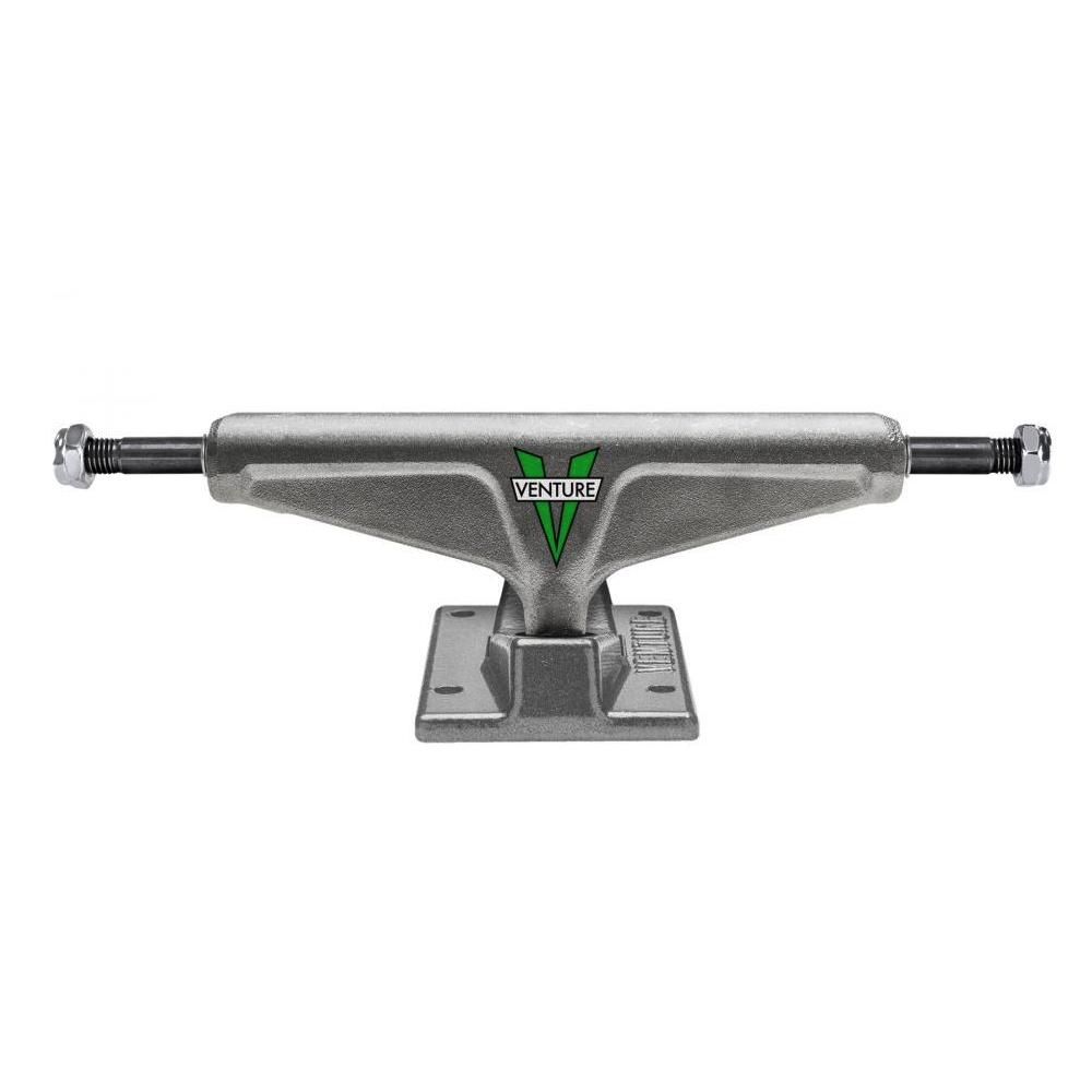 "Venture OG V Raw High Trucks Green | 5.2"" front"