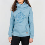 Passenger Clothing Chute Hoodie | Sea Blue