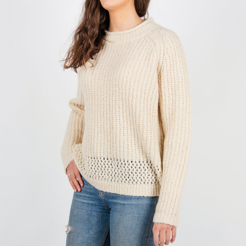 Passenger Clothing Hollen Knitted Sweater | White