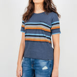 Passenger Clothing Obidos T-Shirt | Midnight Navy