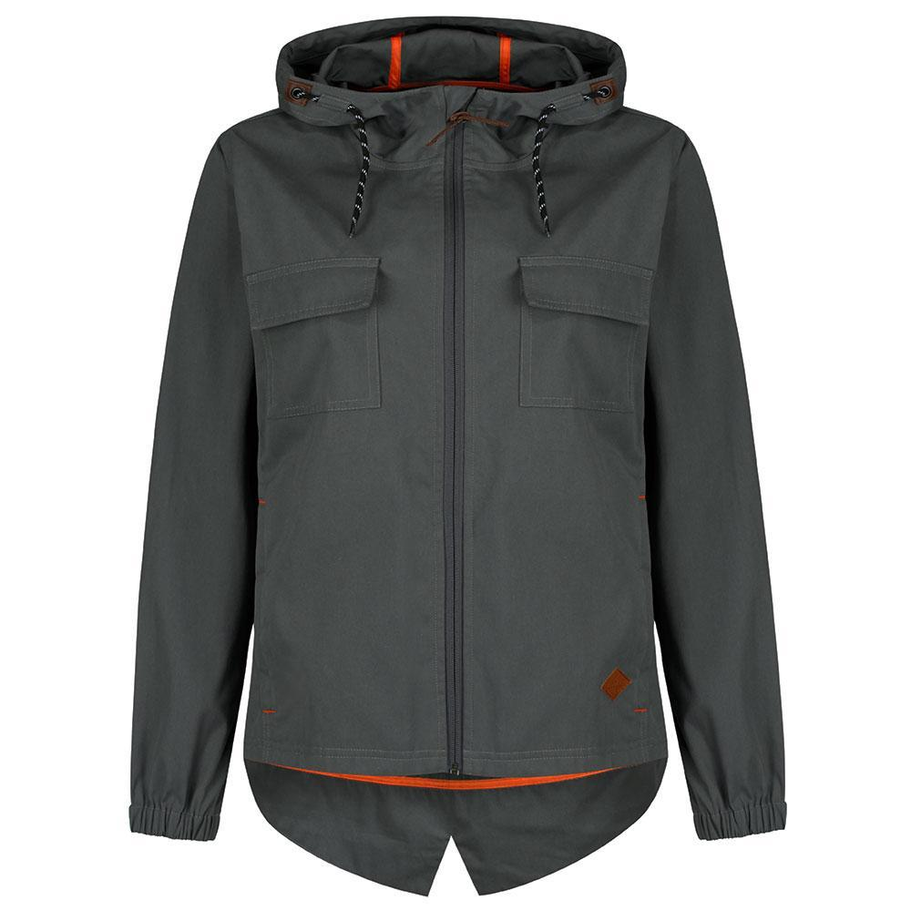 Passenger Clothing Women's Redpa Windbreaker Jacket Grey | TVSC