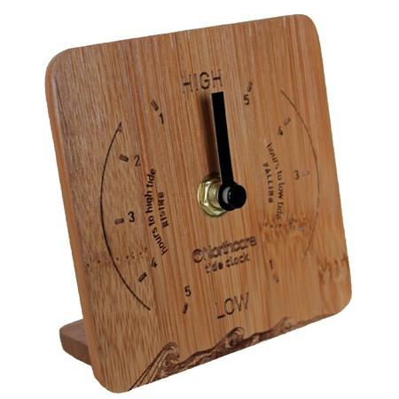 Northcore Tide Clock Desk Top Bamboo - TVSC - 1