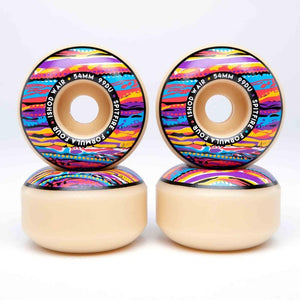 Spitfire Wheels Formula Four Classic Juicy Ishod Wair Skateboard Wheels | 52mm - TVSC