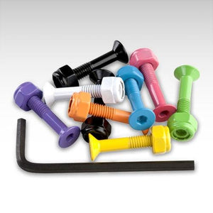 Enuff 1 Inch Coloured Bolts - TVSC