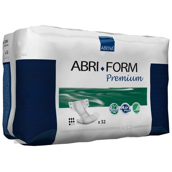 Abena Abri-Form XS2 - Tapeble - 1400ml - 50-60cm - 32 stk.