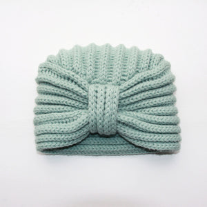 ROSIE SUGDEN x A BELLULA - BONNET TURBAN CELADON EDITION LIMITEE / LTD EDITION CELADON TURBAN HAT