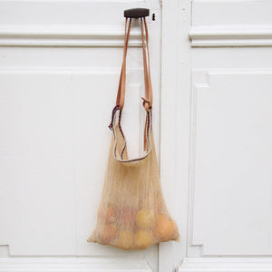 SAC FILET EN AGAVE / FINE WEAVE MAGUEY MESH BAG