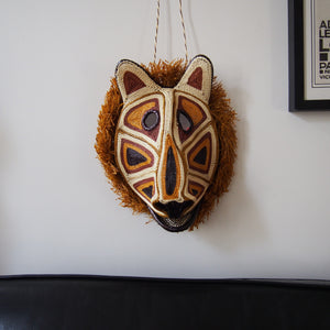 MASQUE TRIBAL LION / LION TRIBAL MASK
