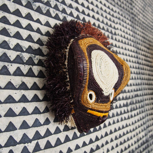 MASQUE TRIBAL HIBOU / OWL TRIBAL MASK