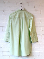 Tailored Panel Shirt Green