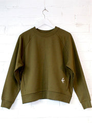 Organic Pocket Sweatshirt