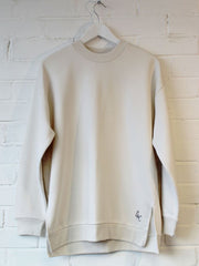 Organic Long Line Sweatshirt