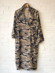 Camouflage Parka (Removable Hood)