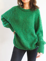 Plush Knit Long Jumper
