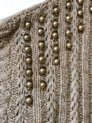 Beaded Knit Jumper