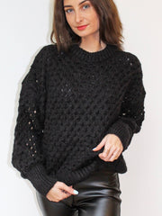 Holey Knit Jumper
