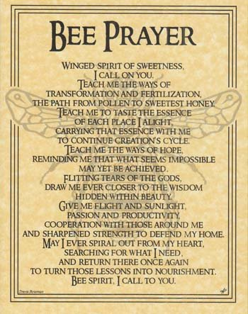 Bee Prayer *