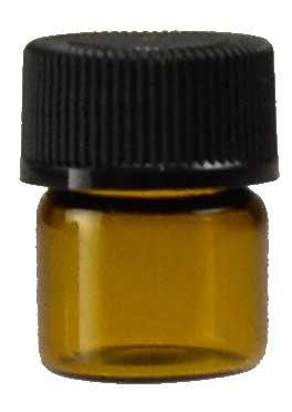 1/3dr Bottle Amber Round *
