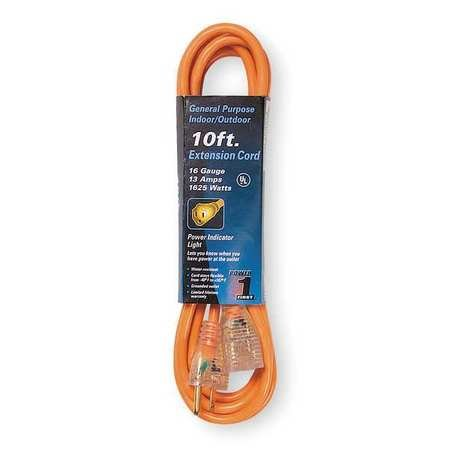 Power First 10 ft. Extension Cord 16/3