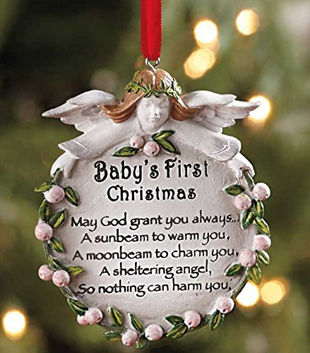 Baby's First Blessing Ornament