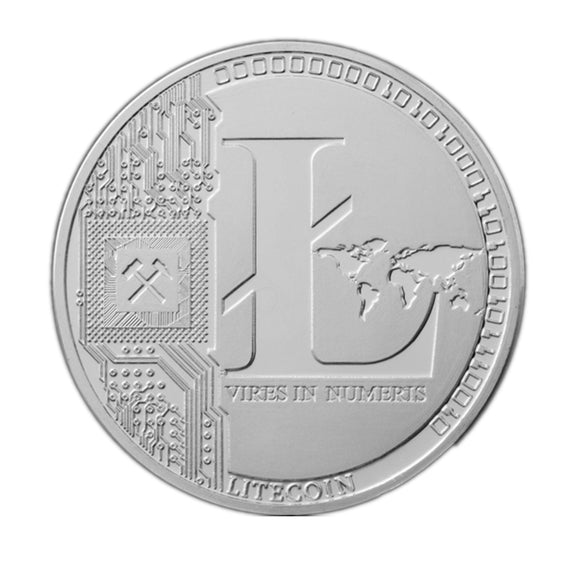 Silver Plated Litecoin Non-Currency Art Collection Replica Limited Edition Coin