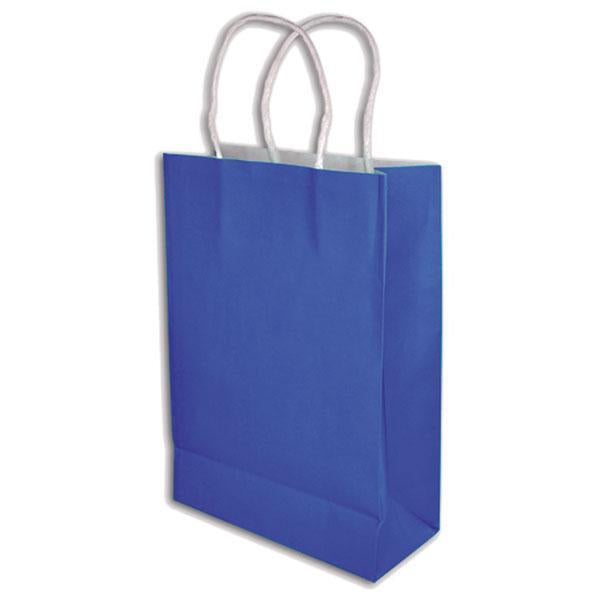 BLUE GIFT BAGS (BAG OF 12)