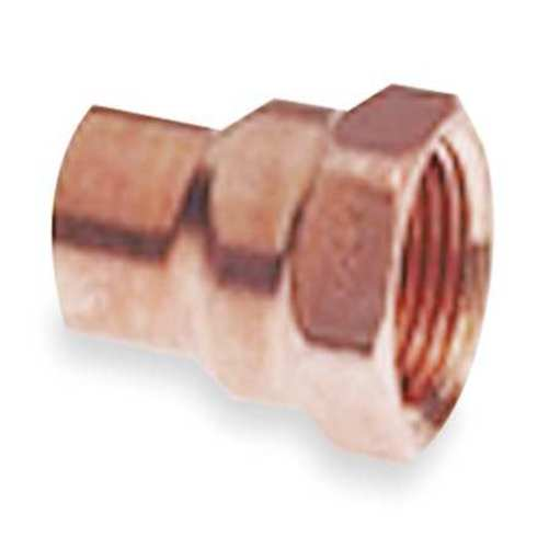 "3/4"" NOM C x 1/2"" FNPT Copper Reducing Adapter"