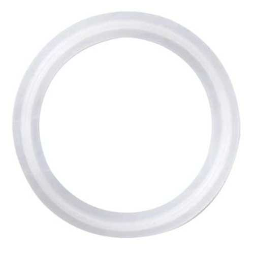 Gasket, Size 2 1/2 In, Tri-Clamp, PTFE