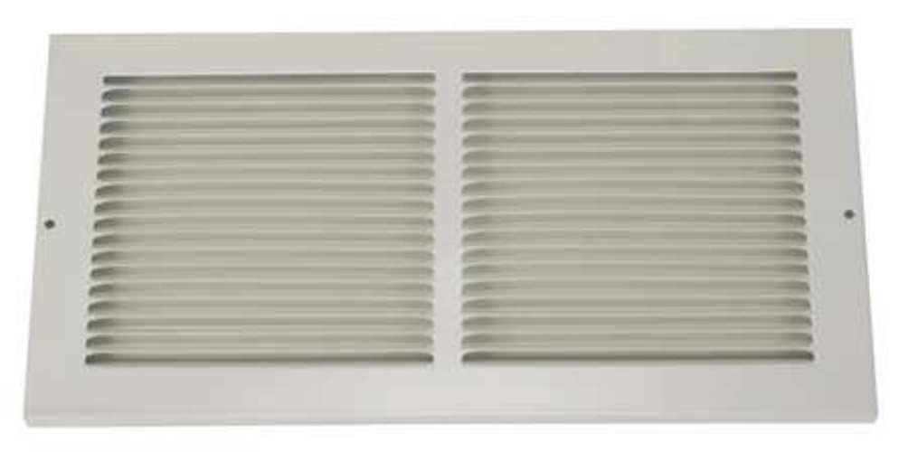 "8"" x 8"" Return Air Grille, White"