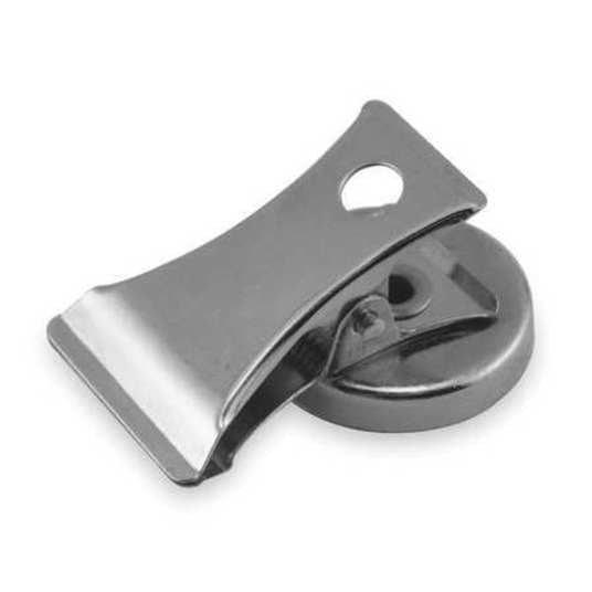 Magnetic Clip, 0.7 oz., 3 Lb, 1 In Dia