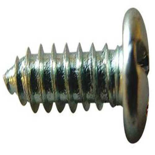 Sheet Metal Screw, Pan, #6, 1 in., PK100