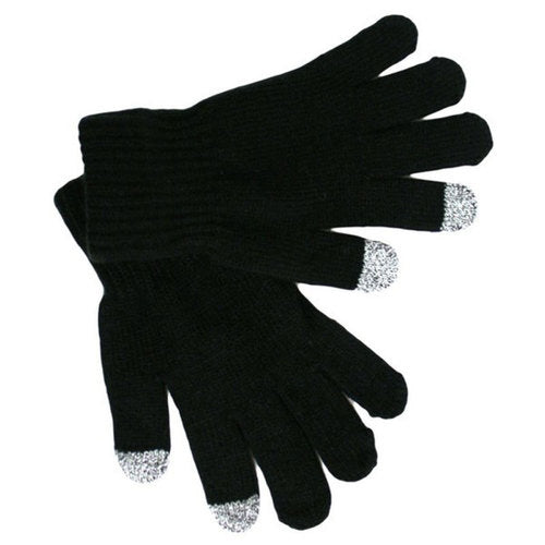 Texting Gloves Bulk | Cell Phone Texting Gloves Wholesale | 12PK Black