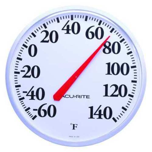 Analog Thermometer, -60 to 140 Degree F