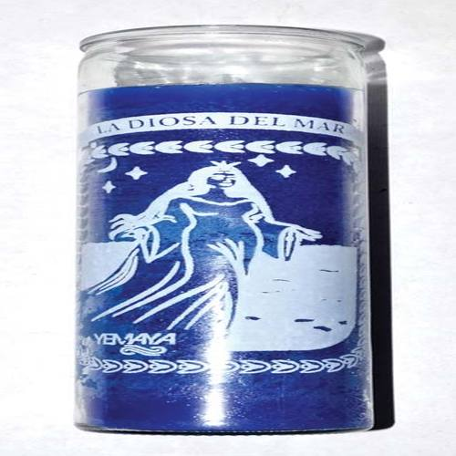 Yemaya 7 Day jar candle