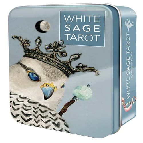 White Sage tarot tin by Theresa Hutch