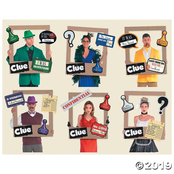 Clue® Photo Booth Frame