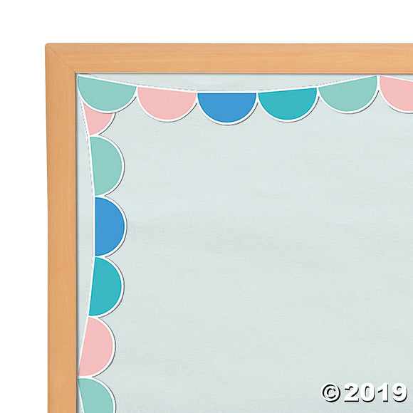 Half Dots Bulletin Board Border