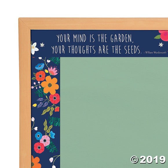 Barker Creek® Double-Sided Petals Bulletin Board Borders
