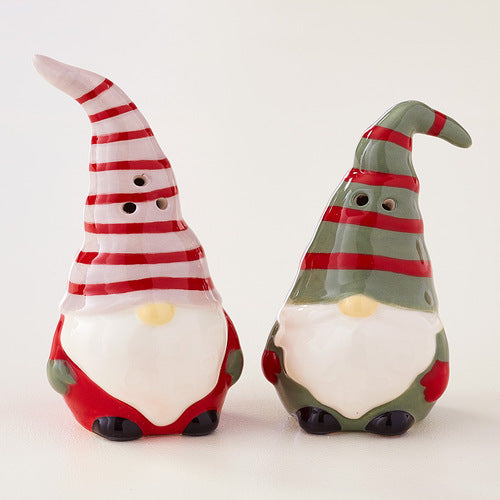 I'll Be Gnome for Christmas Collection-Salt and Pepper Set