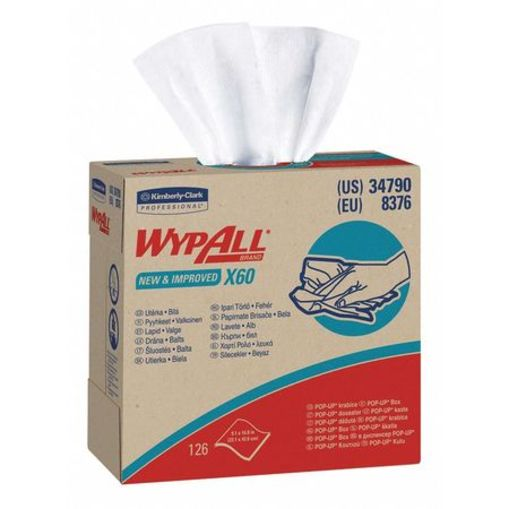 WypAll X60 Disposable Wipes, 9-1/10