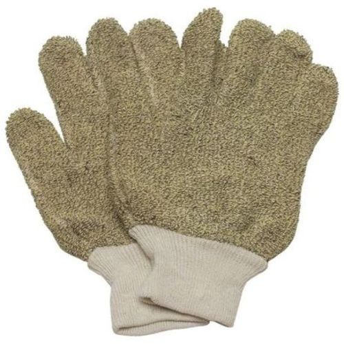 Heat Resist. Gloves, Green, L, Cotton, PR