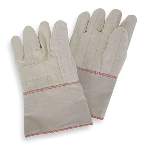 Heat Resist. Gloves, L, Canvas Cotton, PR