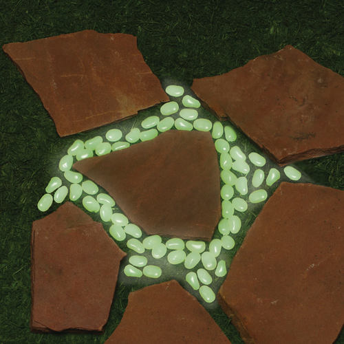 Glow In The Dark Stones - Set Of 100
