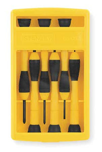 Precision Screwdriver Set, Slotted/Phillips, 6 pcs