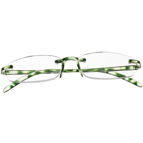 Memory Flex Readers-Green-5.00X