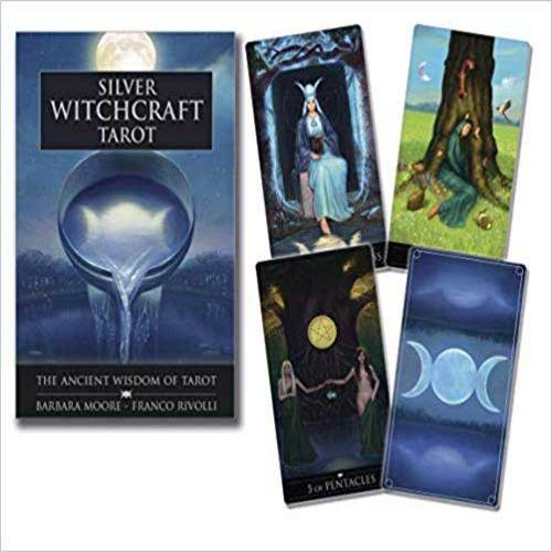 Silver Witchcraft tarot (dk & bk) by Moore & Rivolli