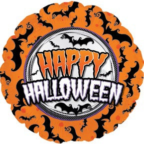 "17"" Halloween Bats Balloon"