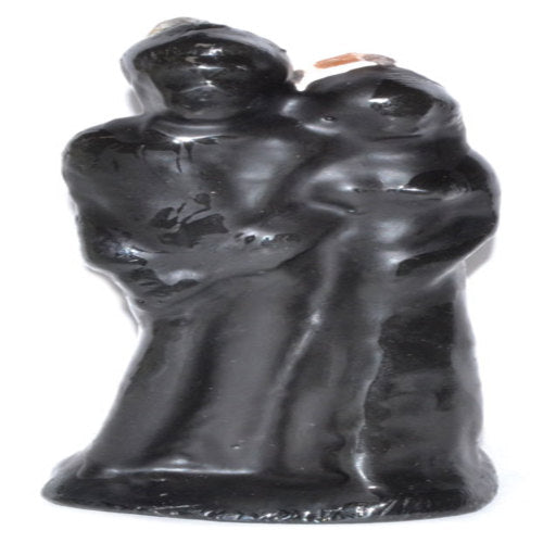 "6"" Marriage Black candle"