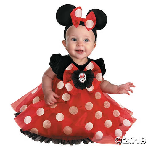 Baby Girl's Red Minnie Mouse™ Costume - 12-18 Months
