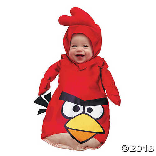 Baby Red Angry Birds Costume - 0-9 Months
